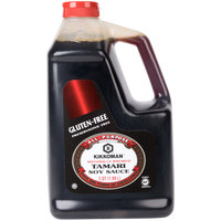 Kikkoman .5 Gallon Gluten Free Preservative Free Tamari Soy Sauce - - 6/Case