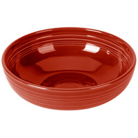 Homer Laughlin 1459326 Fiesta Scarlet 68 oz. Large Bistro Bowl   - 4/Case