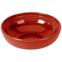 Homer Laughlin 1459326 Fiesta Scarlet 68 oz. Large Bistro Bowl   - 4/Case