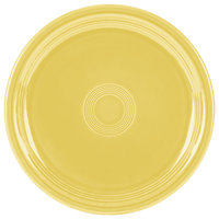 Homer Laughlin 749320 Fiesta Sunflower 9 inch Round Healthcare Plate - 12/Case