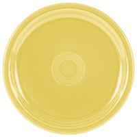 Homer Laughlin 749320 Fiesta Sunflower 9 inch Round Healthcare Plate - 12/Case