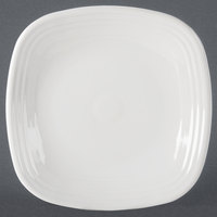 Homer Laughlin 919100 Fiesta White 10 3/4 inch Square Plate - 12/Case