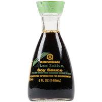 Kikkoman Traditionally Brewed Less Sodium Soy Sauce Dispenser fl. Oz. Bottle - 12/Case