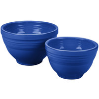 Homer Laughlin 867337 Fiesta Lapis 2-Piece Prep Baking Bowl Set - 2/Case