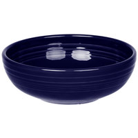 Homer Laughlin 1458105 Fiesta Cobalt Blue 38 oz. Medium Bistro Bowl   - 6/Case