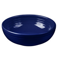 Homer Laughlin 1458105 Fiesta Cobalt Blue 38 oz. Medium Bistro Bowl - 6/Case