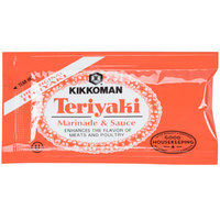 Kikkoman Teriyaki Marinade & Sauce 6 mL Packet   - 200/Case