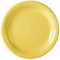 Homer Laughlin 1461320 Fiesta Sunflower 6 5/8 inch Round Appetizer Plate - 12/Case