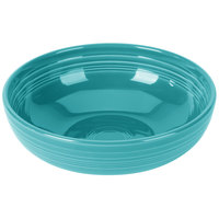 Homer Laughlin 1459107 Fiesta Turquoise 68 oz. Large Bistro Bowl   - 4/Case