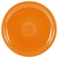 Homer Laughlin 749325 Fiesta Tangerine 9 inch Round Healthcare Plate - 12/Case