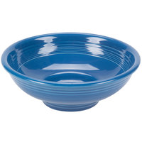 Homer Laughlin 765337 Fiesta Lapis 2 Qt. China Pedestal Serving Bowl - 4/Case