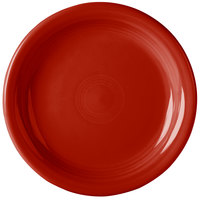 Homer Laughlin 1461326 Fiesta Scarlet 6 5/8 inch China Appetizer Plate - 12/Case