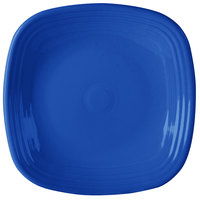 Homer Laughlin 919337 Fiesta Lapis 10 3/4 inch Square Plate - 12/Case