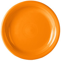 Homer Laughlin 1461325 Fiesta Tangerine 6 5/8 inch China Appetizer Plate - 12/Case