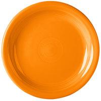 Homer Laughlin 1461325 Fiesta Tangerine 6 3/4 inch Round Appetizer Plate - 12/Case