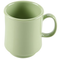 GET TM-1308-AV Diamond Harvest 8 oz. Avocado Tritan Stacking Mug - 24/Case