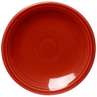 Homer Laughlin 463326 Fiesta Scarlet 6 1/8 inch Round Bread and Butter Plate - 12/Case