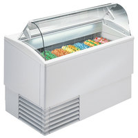 Excellence PGC-7 53 1/2 inch Seven Pan Gelato Dipping Cabinet