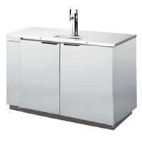 Beverage-Air DD36HC-1-S Double Tap Kegerator Beer Dispenser - Stainless Steel, (1) 1/2 Keg Capacity
