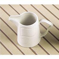 CAC SOH-PC Soho 6 oz. American White Stoneware Creamer - 36 / Case