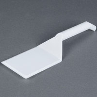 Fineline 3313-WH Platter Pleasers 10 inch White Disposable Spatula - 48/Case