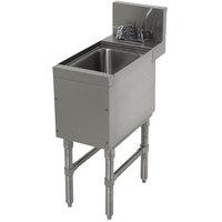 Advance Tabco PRHS-24-18 Prestige Series Stainless Steel Underbar Hand Sink - 25 inch x 18 inch