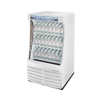 Beverage Air BZ13-1-W White Breeze Open Display Case 30 inch - 13 Cu. Ft.