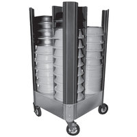 Cres Cor 501-10-480B Plate Cover Dolly with Four Dividers