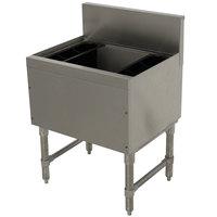Advance Tabco PRI-19-12 Prestige Series Stainless Steel Underbar Ice Bin - 20 inch x 12 inch
