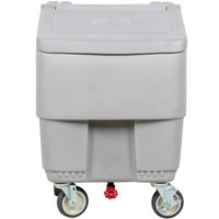 Continental 9725GY Con-Serv 125 lb. Gray Mobile Ice Bin