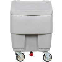 Continental 9725GY Con-Serv 125 lb. Gray Mobile Ice Bin
