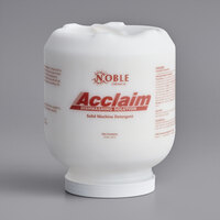 Noble Chemical Acclaim 8 lb. / 128 oz. Solid Dish Machine Detergent - 4/Case