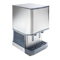 Scotsman HID540A-1 Meridian Countertop Air Cooled Ice Machine and Water Dispenser - 40 lb. Bin Storage