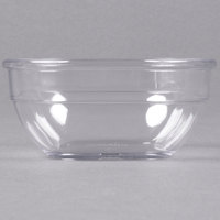 Dinex DXSQD1007 10 oz. Clear Square Bowl - 48/Case