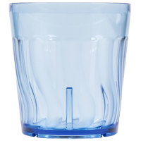 Dinex DX4GC954 9 oz. Blue Swirl SAN Tumbler - 72/Case