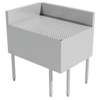 Advance Tabco PRFD-3020 30 inch x 20 inchPrestige Series Stainless Steel Underbar Drainboard Filler - 90 Degree Angle