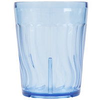 Dinex DX4GC1254 12 oz. Blue Swirl SAN Tumbler - 72/Case