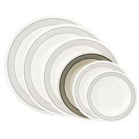 GET WP-7-CA 7 1/2 inch Diamond Cambridge Wide Rim Plate - 48/Case