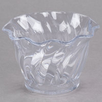 Cambro SRB5152 5 oz. Clear Plastic Swirl Bowl   - 24/Case