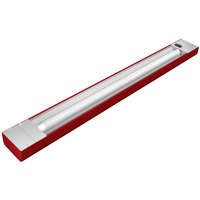 Hatco NLL-42 42 inch Red Narrow LED Display Light - 14W