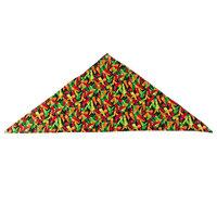 36 inch x 15 inch Multi Pepper Patterned Neckerchief / Bandana