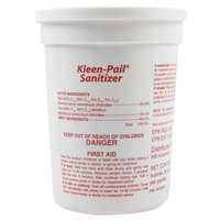 San Jamar KPSAN Water Soluble Sanitizer Packets for Kleen-Pail - 90 Count