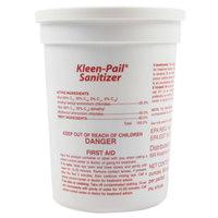 San Jamar KPSAN Water Soluble Sanitizer Packet for Kleen-Pail   - 90/Tub