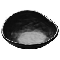 Elite Global Solutions JWT65 Zen 7 oz. Irregular Edge Black Bowl - 6/Case