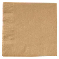 Creative Converting 803276B Glittering Gold 2-Ply Beverage Napkin - 600/Case