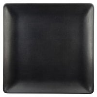 Elite Global Solutions ECO66SQ Greenovations 6 inch Black Square Plate - 6/Case