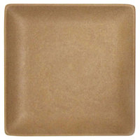 Elite Global Solutions ECO1010SQ Greenovations 10 inch Paper Bag-Colored Square Plate - 6/Case