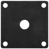 GET ML-224-BK Black Melamine False Bottom for ML-150 Square Crocks - 12/Case