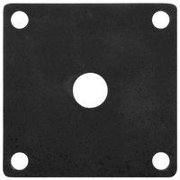 GET ML-222-BK Black Melamine False Bottom for ML-148 Square Crocks