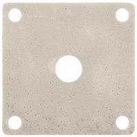 GET ML-224-IR Ironstone Melamine False Bottom for ML-150 Square Crocks - 12/Case